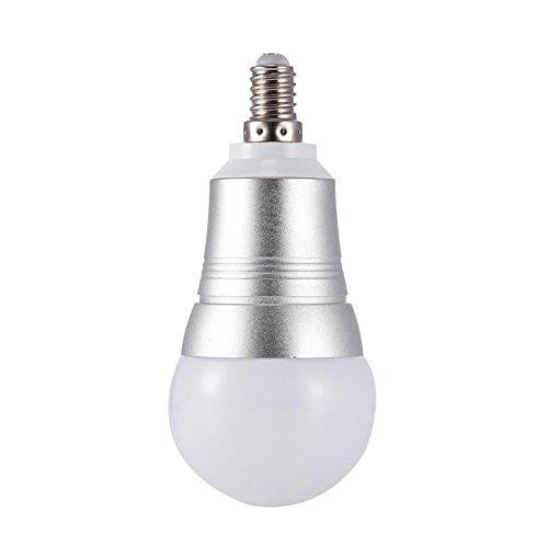 Glory.D 7W Inalámbrico WiFi Bombilla LED Inteligente Regulable Blanco E27 / E26 / B22 Control de la Bombilla Que Cambia de Color por teléfono Inteligente, Control de Voz por Amazon Alexa, Google Home