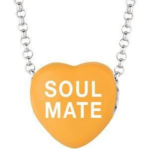 sweethearts-orange-emaille-soul-mate-herz-auf-406-cm-halskette-mit-geschenk-box