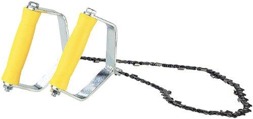 AGT Handkettensäge: Hand-Kettensäge, Metallgriffe, Sägekette 70cm, 18 extrem scharfe Zähne (Handkettensäge für hohe Äste)