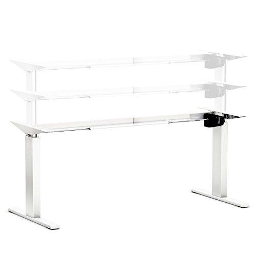 Hervorragend Ergobasis Elektrisches Tischgestell Light Weiß (Best Price), Stufenlos  Höhenverstellbar Von Ca.