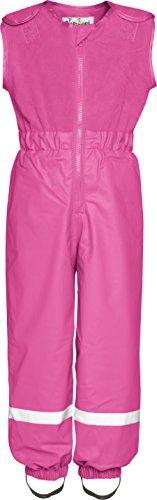 Playshoes Unisex Baby Latzhose Regenhose Mit Fleece Latz, Pink (18 pink), 80 Preisvergleich