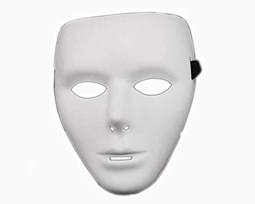 Xiton Full Face Theater Maske, Herren DIY Masquereade Maske für Party, Hochzeiten, Cosplay Kostüm, anonyme venezianischen (Diy Herren Halloween Kostüm)