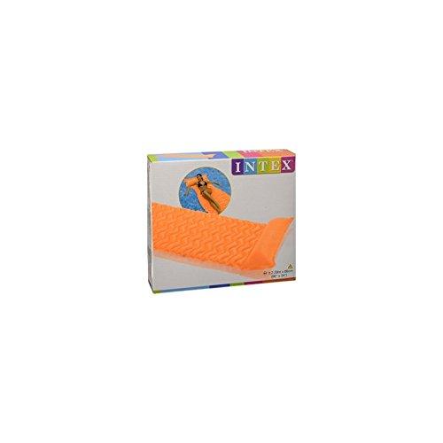 Matelas à rouler - 229 x 86 cm - Vinyle - Orange
