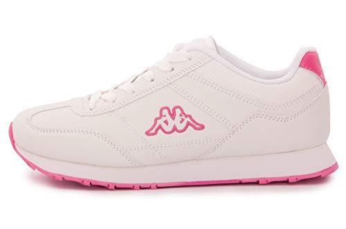 Kappa Damen Sneaker Turnschuhe Schuhe Sportschuhe - Fitness Marke MOD.ZIONE2. Scarpa Sneaker Donna (41, Rosa)