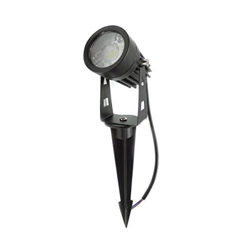Silamp - Spot à Piquer LED extérieur IP65 3W COB - couleur eclairage : Blanc Neutre 4000K - 5500K