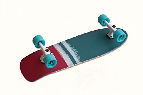 SURFSKATE MILLER MUNDAKA 30 PULGADASMundaka30 XRKP SURF TRUCKPrepare your quiver! Front XRKP truck, 30, single kick board and 70mm wheels.Carve turn and squeeze every bit of its energy!! Surfing the asphalt has never been so easy!!LENGTH30''WIDTH9.8'...