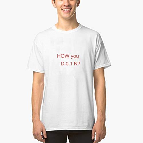 Kinder Custom Made T-shirt (T-Shirt Herren Sommer Oberteile Sie in den Kurzarm-T-Shirts der netten jugendlich Mädchen-grafischen Männer(Can Custom-Made Pattern) (Color : Weiß, Size : M))