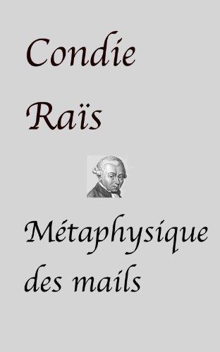 Couverture du livre Métaphysique des mails (nouvelle)