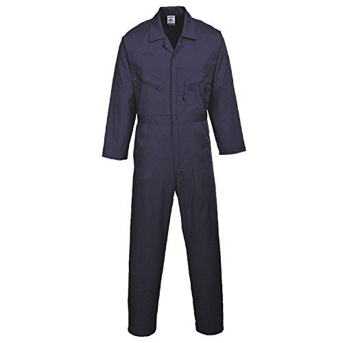 Portwest Liverpoolzip Combinaison Bleu Marine