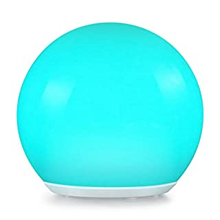 Albrillo Solar Mood Light Ball LED Light IP68 with Remote Control, 4 Changing Modes and 12 Adjustable RGB Colours, Decorative Ball for Parties, Weddings, Swimming Pools