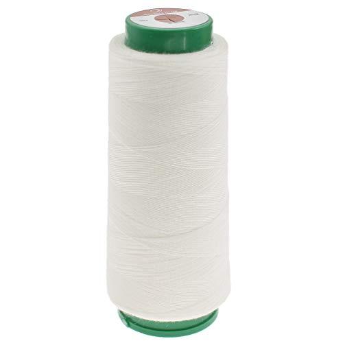 Hilo coser Kesheng color blanco soluble