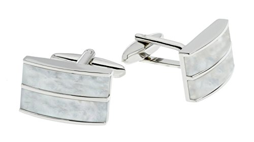 code-red-mens-mother-of-pearl-base-metal-cufflinks