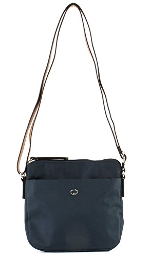 Gerry Weber Damen Lemon Mix Ii Shoulderbag Svz Schultertasche, Blau (dark blue), 4x20x21 cm