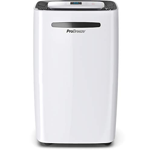Pro Breeze Deumidificatore 20L, Display Digitale