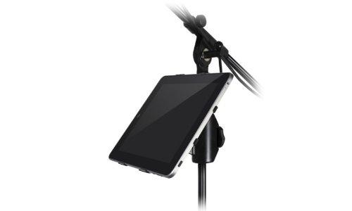 IK Multimedia iKlip supporto universale accessorio per asta microfonica per iPad/iPad 2/The New iPad - Nero