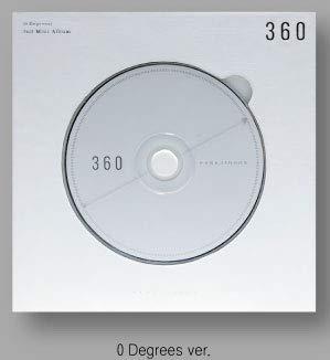 MARU Entertainment Park Ji Hoon 360 (2nd Mini Album+Folded Poster 0 Degrees Ver. Ver.