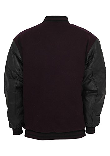 TB103 Half-Leather College Jacket Herren Outdoor Jacke - 2