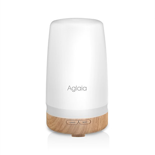 Aglaia Aroma Diffuser 100 ML Essential Oil Humidifier with Two Color LED...