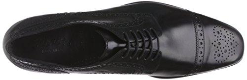 Sioux Paavo, Chaussures Lacées Homme Noir (Schwarz)