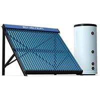 Calentador solar de agua forzado, para agua caliente y calefacción, depósito de 300 L