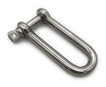 Shackle Short Shape Shackle Straight D Shackle Stainless Steel A4 ARBO-INOX