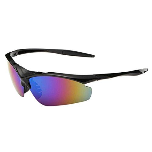 sunshineBoby Damen und Herren Mode Driving Sonnenbrille Polarisierte Brille Sport Eyewear Angeln Golf mit Rahmen--Outdoor Radsportbrille Fahrrad Sonnenbrille Polarisierte Sonnenbrille Brillen (Mehrfarbig B)