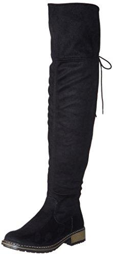 Rieker Damen Z6883 Stiefel Schwarz, 39 EU