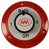 Batterieumschalter für 2 Batterien