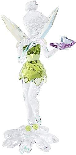 Jbwlkj 925er Sterling Silber Tinker Bell Mit Schmetterling Kristall Mehrfarbig Schmuck -