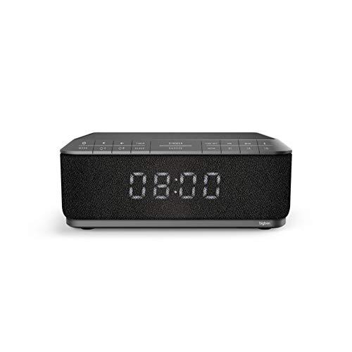 Bigben Interactive RR140IG Horloge Numérique Noir, Gris Radio Portable - Radios Portables (Horloge,...