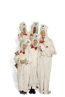 Generique - Plüsch-Eisbär-Kostüm Erwachsene -