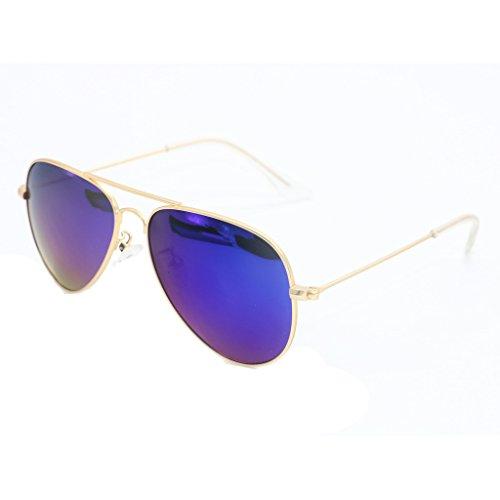Simvey Kid's Girls Boys Classic Junior Polarized Aviator Sunglasses Uv 400
