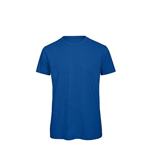 B&C Herren Öko-Baumwolle T-Shirt Königsblau