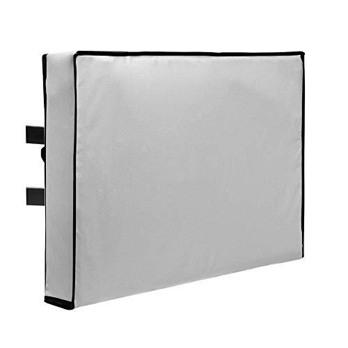 Möbelsets Outdoor-TV-Abdeckung für Wandhalterungen, Wetterfester Staubdichter Fernseh-Universalschutz - Mehrfache Größen (Farbe : Schwarz, größe : 36-38