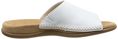 Gabor Shoes Gabor, Mules Femme Blanc (weiss)