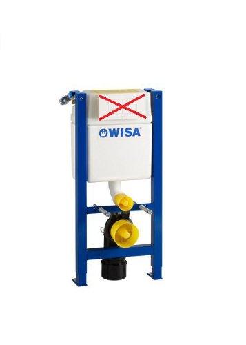WC-Vorwandelement WISA XT kurze Bauhöhe BH 83 cm Bedienung von oben oder von vorne