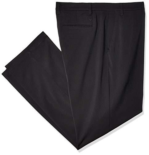 Callaway Herren Lightweight Tech Pant with Active Waistband Hosen, Caviar, 46 x 30 Elite Lightweight Pants