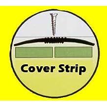Carpet and Vinyl Metal Floor Edging - Carpet Cover Strip Silver 900mm