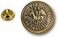 Akacha Spilla Pin pin's Spille spilletta Badge Bandiera templare Templari Cavaliere r1