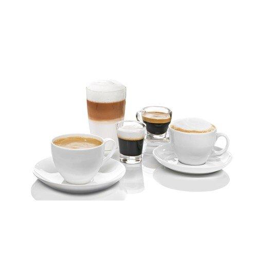 Bosch TES60759DE Kaffeevollautomat VeroAroma 700 OneTouch Zubereitung/Double Cup (1500 W, 1,7 L, 19 bar, Cappuccinatore) edelstahl -