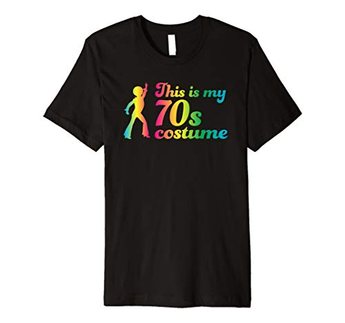 This Is My 70s Costume T-Shirt Disco Party -