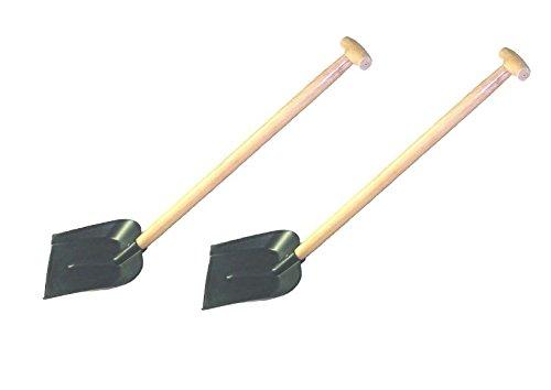 Schneeschaufel Kunststoff - Schaufel für PKW und LKW - 2 Stück (Lkw-schaufel)