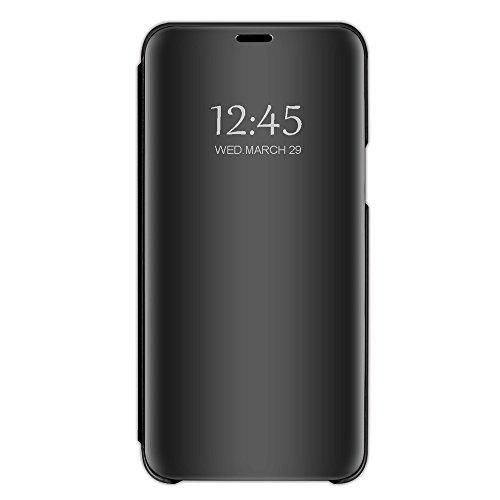 Custodia per apple iphone 7 iphone 7 plus cover specchio case ultra folio flip stile pelle libro fondina (2, iphone 7)