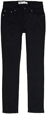 Levi's kids- PANTAÑLON Vaquero Skinny Taper 9EC214-D6G Forever Black- Pantalon Vaquero Negro Skinny para N