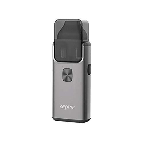 Original Aspire Breeze 2 AIO all-in-one Kit 3ml - 1000mAh Batterie/Top füllen/Eingebauter Verdampfer Enthält Kein Nikotin (Grau)