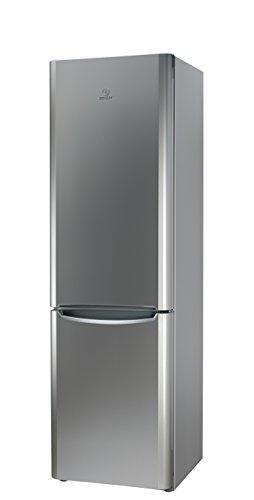 Indesit BIAAA 14P X Kühl-Gefrier-Kombination / 200 cm Höhe / 233 kWh/ 240 Liter Kühlteil / 90 Liter Gefrierteil / 0,638 kWh / 24 stunden/Kühlen 240 L/Gefrieren 90 L/edelstahl