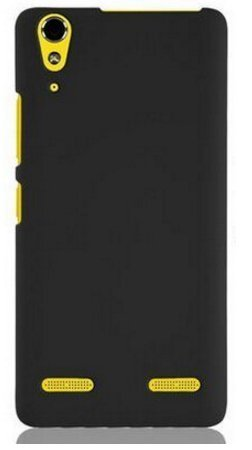 Tidel Ultra Thin and Stylish Rubberized Back Cover for Lenovo A6000&A6000 Plus  available at amazon for Rs.99