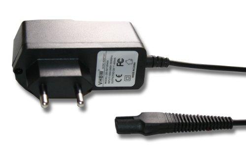 vhbw 220V Netzteil Ladegerät Ladekabel (12V/0.4A) für Rasierer Braun Flex, Cruzer, FreeControl...