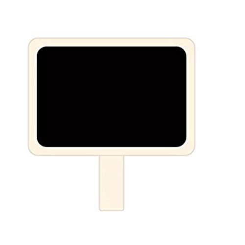 (fish 10pcs Mini hölzerne Tafel-Klemmen Hinweis Retangle Tafel Clip Tag Message Board für Hochzeit Papier Foto DIY)