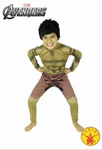 Rubie 's OFFIZIELLER THE INCREDIBLE HULK Jungen Fancy Kleid Superheld Kinder Kostüm Outfit (Kinder Hulk Outfit)